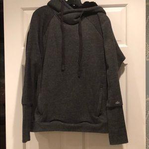 Alo Fleece Sherpa lined hoodie